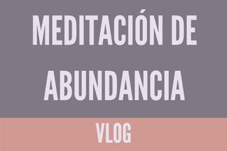 Meditación de abundancia